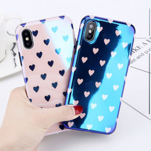 NEW iPhone XS/X/7/8/Plus Shining Heart Case